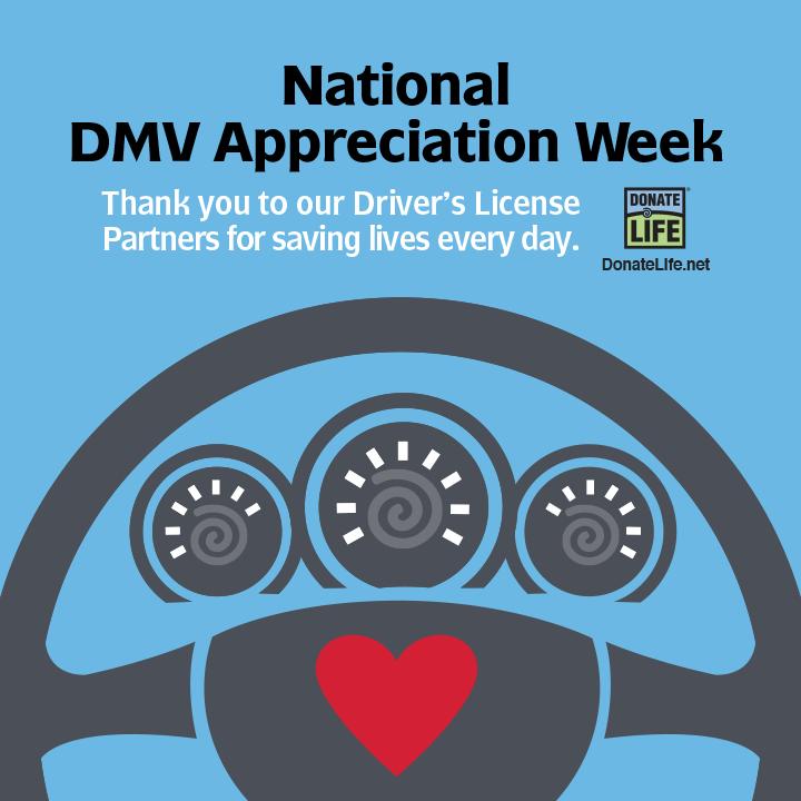 National DMV Appreciation Week
