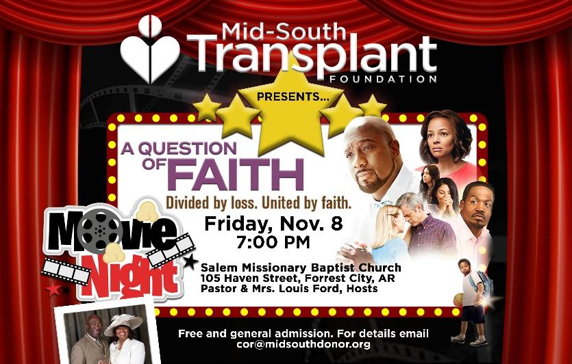 A Question of Faith Movie Night